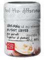 Lyophilized instant coffee