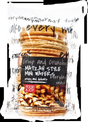 Matzah style mini wafers