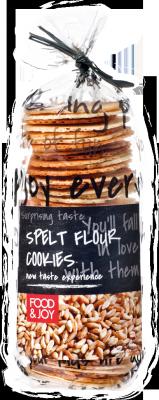 Natural spelt flour cookies