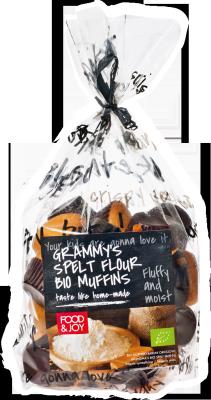 Grammy's spelt flour bio muffins
