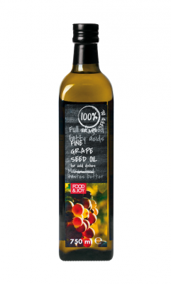 100% grape seed oil