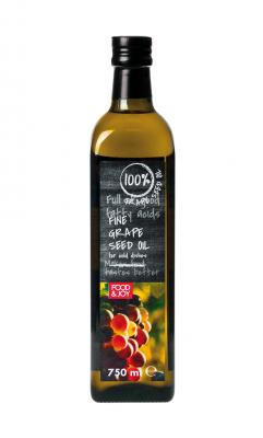 Olej zpestek winogron