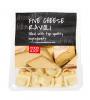 Five cheese ravioli
