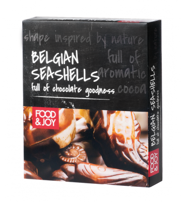 Chocolate belgian seashells
