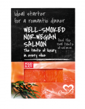 Norwegian salmon traditionally cold smoked – lices