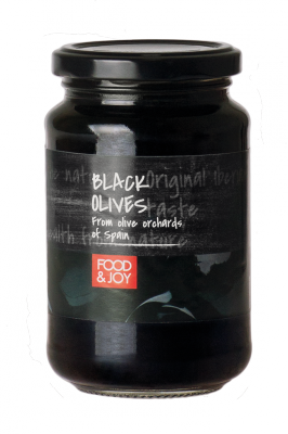 Black pitted Hojiblanca olives