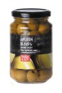 Green pitted Manzanila olives