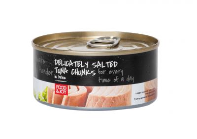 Tuńczyk kawałki wsosie własnym