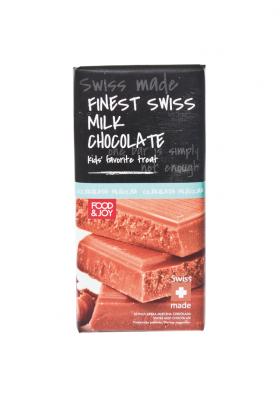 Szwajcarska mleczna czekolada