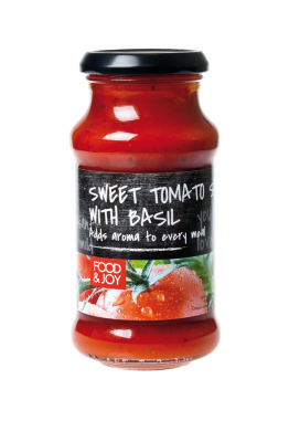 Sos pomidorowy zbazylią