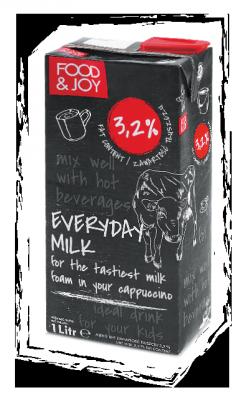Mleko UHT zawartość tłuszczu 3,2%