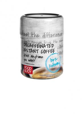 Kawa rozpuszczalna liofilizowana bezkofeinowa