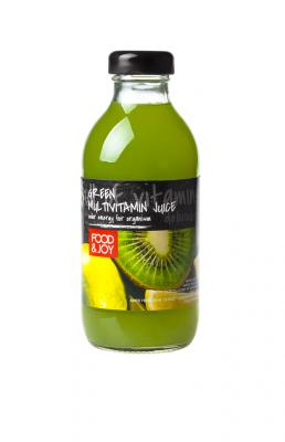 Napój multiwitamina zielona. Napój wieloowocowy, mętny, wzbogacony wwitaminy, pasteryzowany.