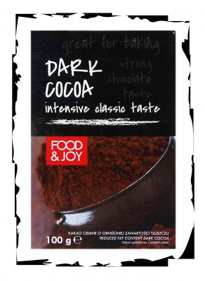 Kakao ciemne oobniżonej zawartości tłuszczu